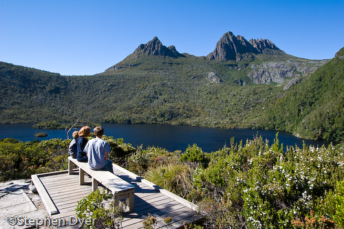 Seat;australia;boy;bush;bushland;council;cradle;dove;ecology;ecosystem;environment;environmentalism;female;feminine;gender;heritage;horizontal;human;human being;human beings;humans;lad;lake;land;landscape;male;man;masculine;meander;mountain;national;national park;nature;park;people;person;rocks;scenery;sitting;st clair;still;tasmania;tree;vally water;water;wilderness;woman;womanly;women;world;young man