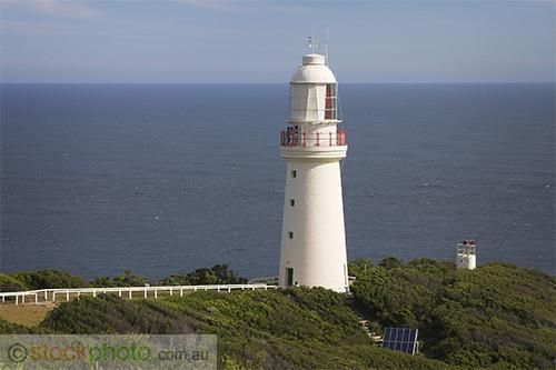 Cape;Otway;Lightstation;park;environment;scenery;land;coast;water;ocean;sea;lighthouse;architecture;building;government;building;walkway;light;horizontal;