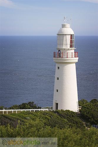 Cape;Otway;Lightstation;park;environment;scenery;land;coast;water;ocean;sea;lighthouse;architecture;building;government;building;walkway;light;vertical;