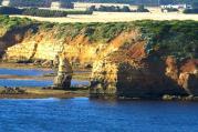 landscape;horizontal;great;ocean;road;australia;environment;scenery;water;sea;la