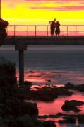 great;ocean;road;australia;environment;scenery;sky;sunset;land;coastline;seaside