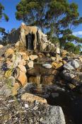 Cape;Conran;West;Cape;Cabins;goanna;cave;waterfall;water;feature;rocks;