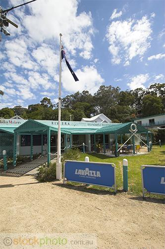 Riviera;Nautic;yacht;and;cruiser;hire;hire;gippsland;lakes;architecture;building;EQUIPMENT-OBJECTS;objects;Flag;flag;pole;