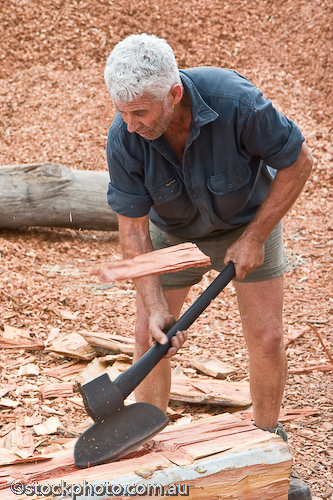 age;australia;axe;barham;broad;bush;chopping;cutter;entertainment;festival;gender;gum;human;human being;human beings;humans;log;logging;male;man;masculine;murray;old;people;person;red;river;timber;timbercutter;tree;wood;koondrook