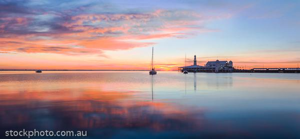 architecture, boats, bridge, buildings, calm, city, climate, craft, destination, early, geelong, harbor, harbour, holiday, infrastructure, jetty, landscape, lights, marina,  moored, morning, navigable, ocean, orange, pier, port, reflection, sailing, sea, seafront, seaport, seaside, ships, sun, sunrise, tourism, tourist, tranquil, travel, urban, water, waterfront, waterway, weather, yacht