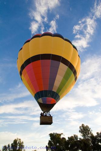 adventure;air;aircraft;aviation;balloon;colour;color;coulorful;colorful;flight;float;flying;hot;recreation;sky;sport;summer;transportation;aerospace;ascend;ball;ballooning;basket;fly;fun;mildura;hotair;pilot;ride;rise;transport;travel;up;blue;wicker;land;lift;off;silk;early;morning;flame;fire;air;transportation;concepts;australia;vertical;