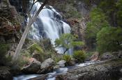 Grampians;Mackenzie;Falls;environment;scenery;water;waterfall;plants;land;rocks;