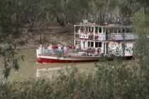 pioneer;settlement;swan;hill;victoria;old;old;fashioned;transportation;water;tra