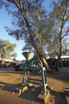 pioneer;settlement;swan;hill;victoria;old;old;fashioned;separator;milk;agricultu