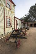 pioneer;settlement;swan;hill;victoria;old;old;fashioned;architecture;building;co