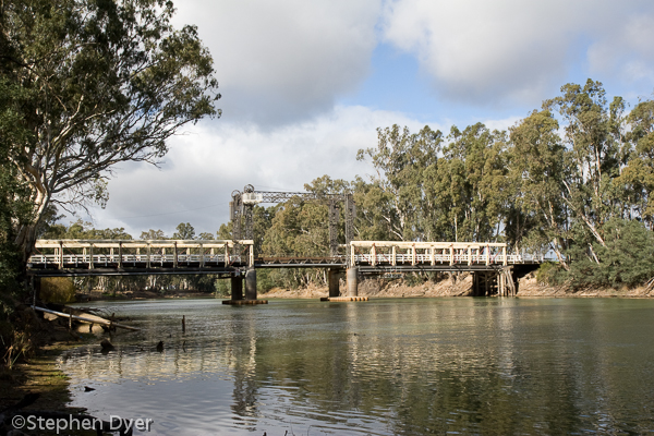 barham;bridge;ecology;ecosystem;environment;environmentalism;gum;koondrook;murray;plants;red;river;scenery;transport;transportation;tree;water